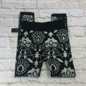 ShoSho leggings tights lotus print size s/m